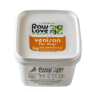 1kg Venison tub Meal For Dogs