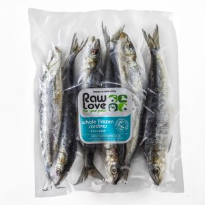Sardines for pets, rich in Omega 3 for dogs and cats