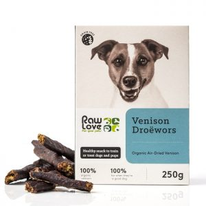 venison treats for pets