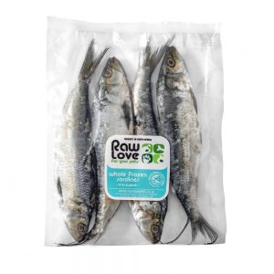 Whole Frozen sardines